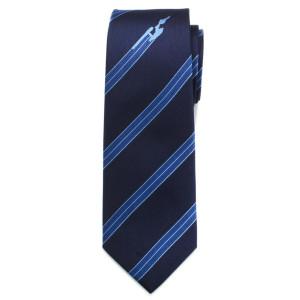 Star Trek Enterprise Flight Blue Stripe Men's Tie
