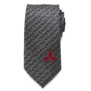 Star Trek Klingon Grey Men's Tie