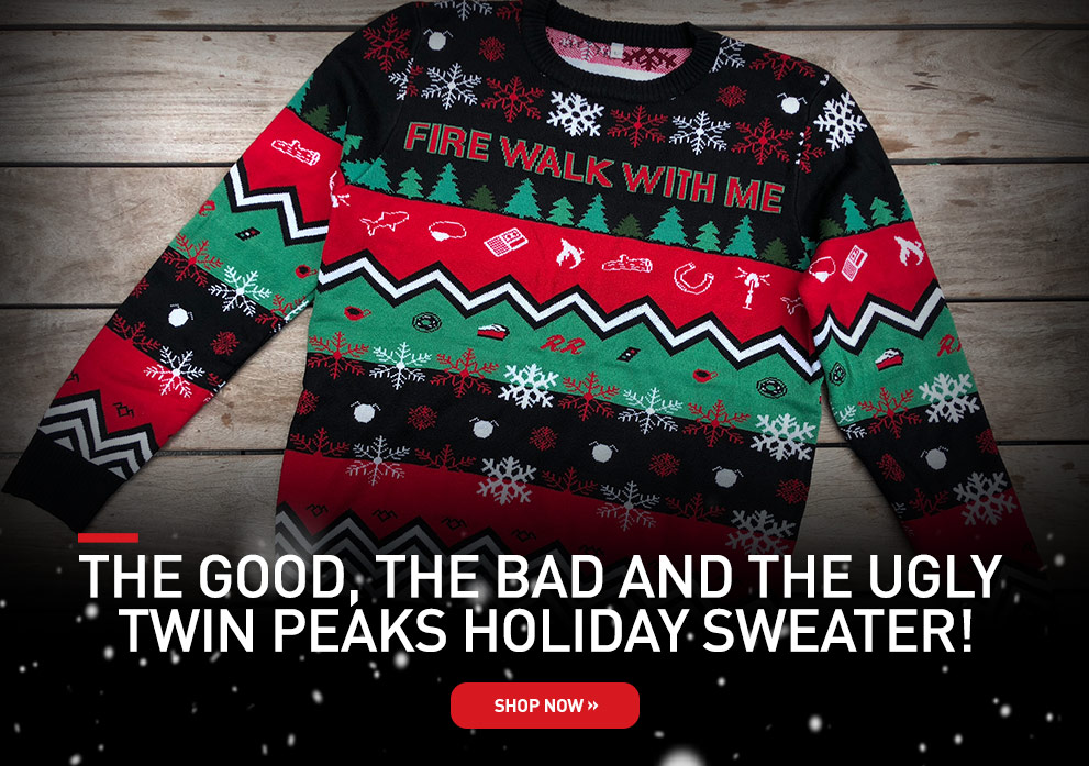 Twin Peaks Holiday Sweater