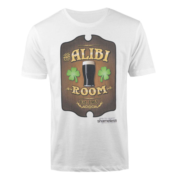 a643beb52 Shameless Alibi Room T-Shirt | Shop the Showtime Official Store