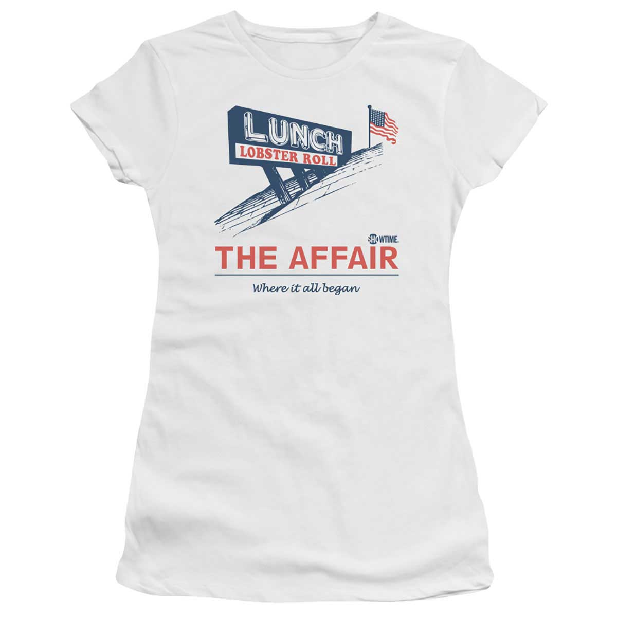 The Affair Lobster Roll Women's Slim Fit T-Shirt