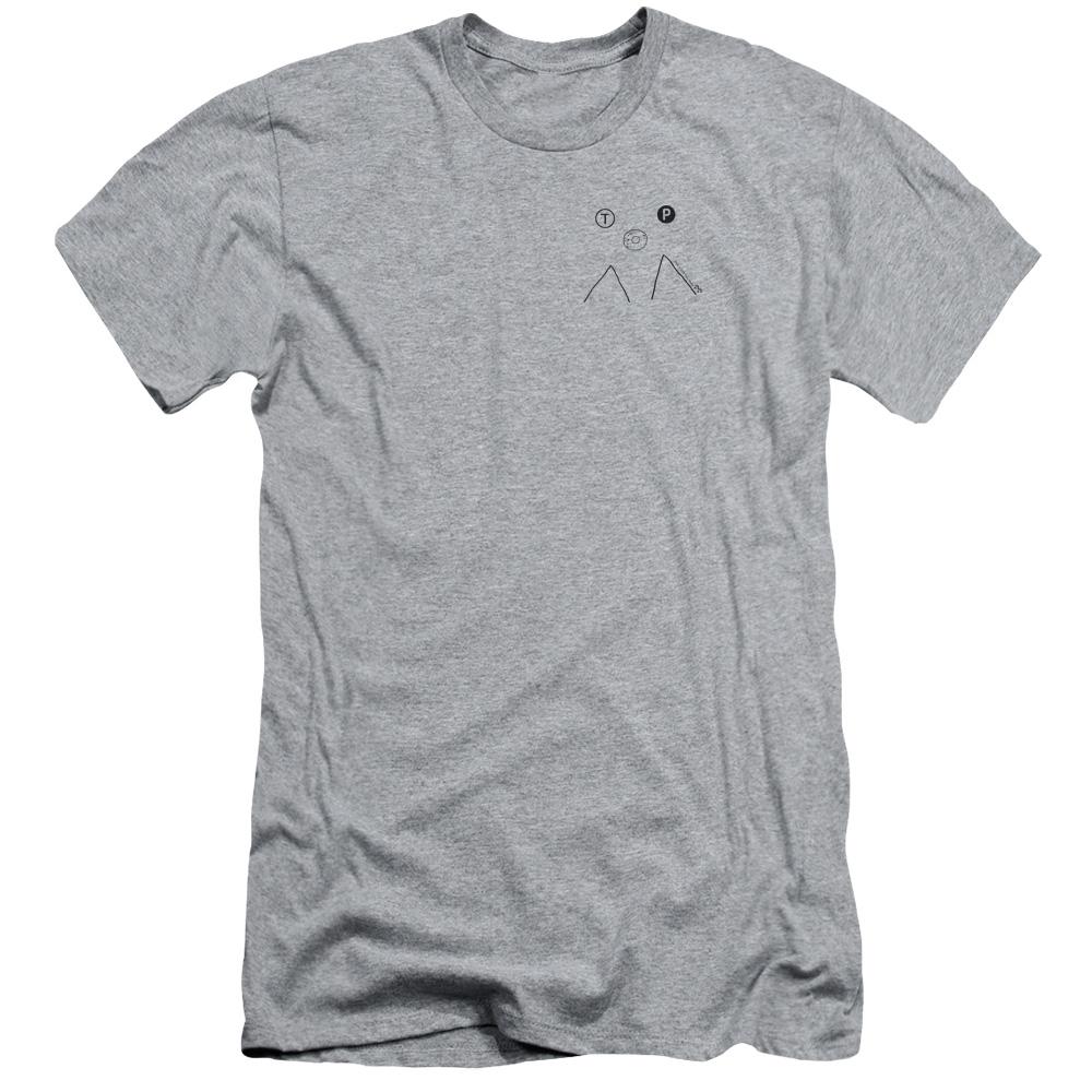 Twin Peaks Art Collection Line Art Donut T-Shirt