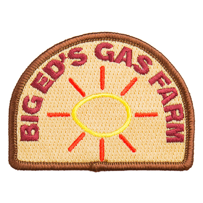 Twin Peaks Big Eds Patch