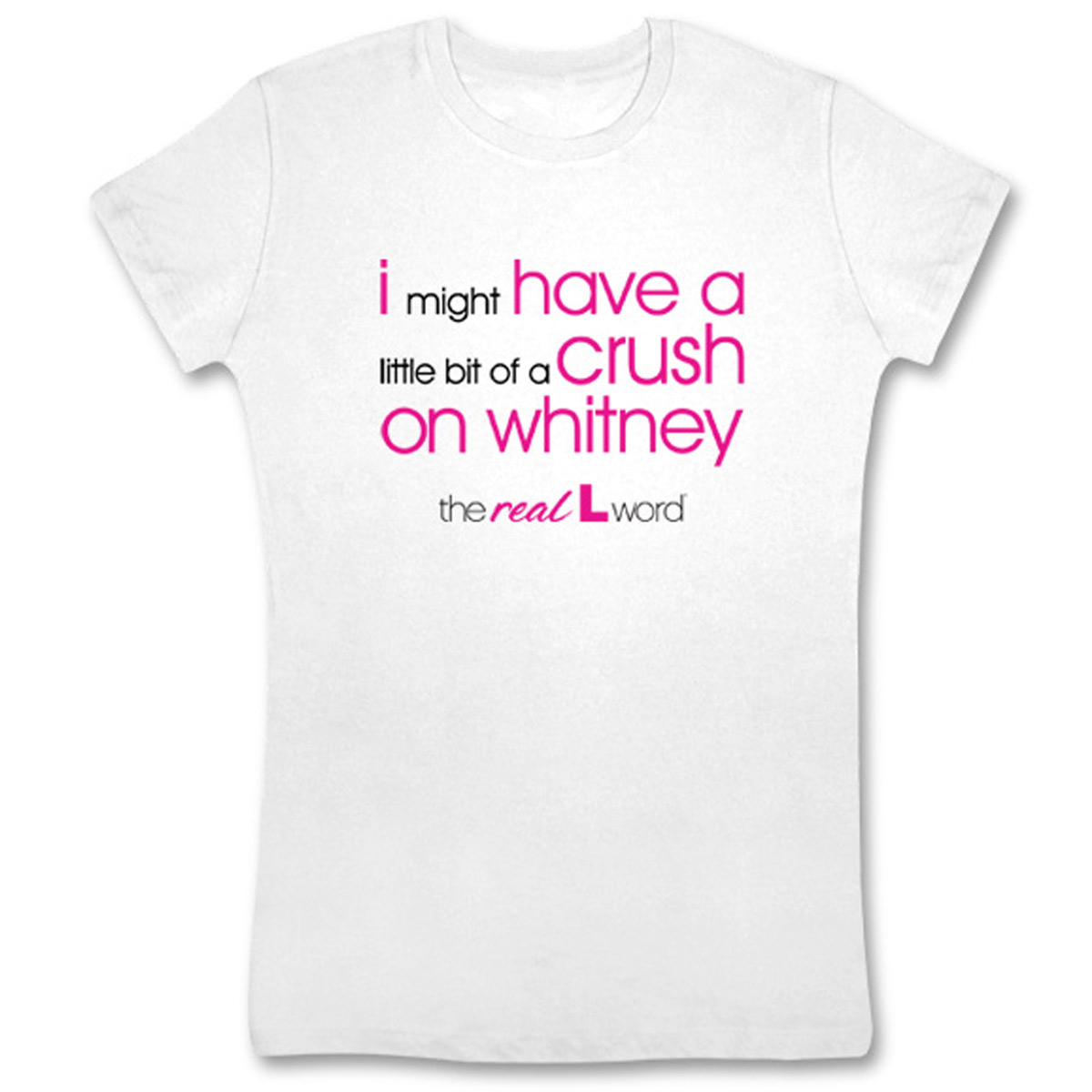 The Real L Word Crush on Whitney Women's T-Shirt