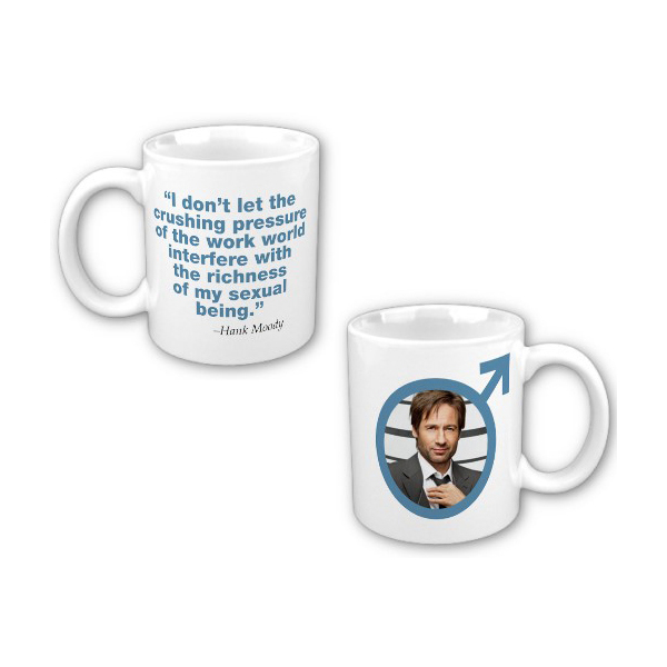 Californication Sexual Being Quote Mug