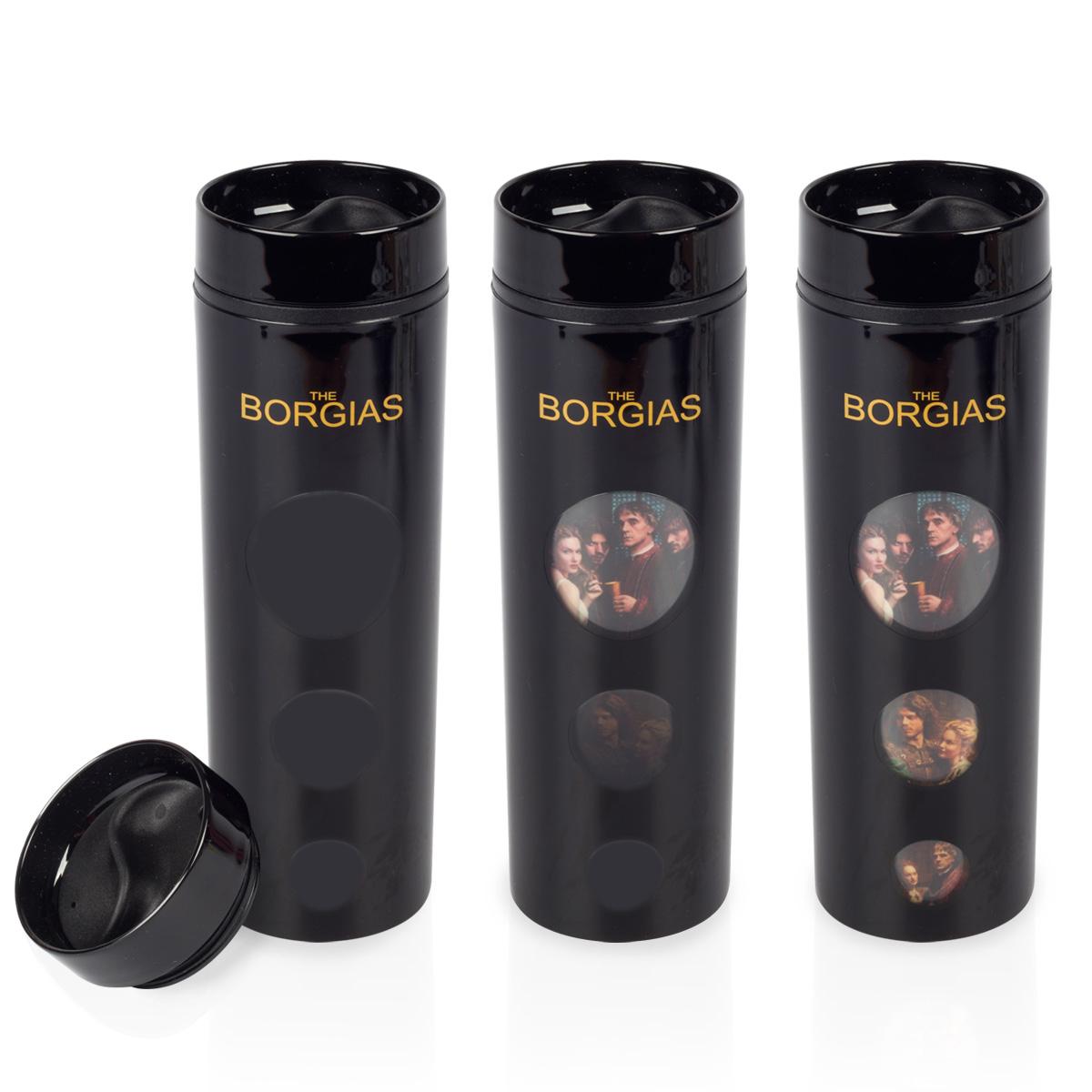The Borgias Heat Sensitive Tumbler