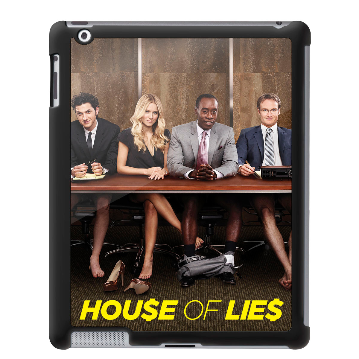House of Lies No Pant iPad 2/3 Cover