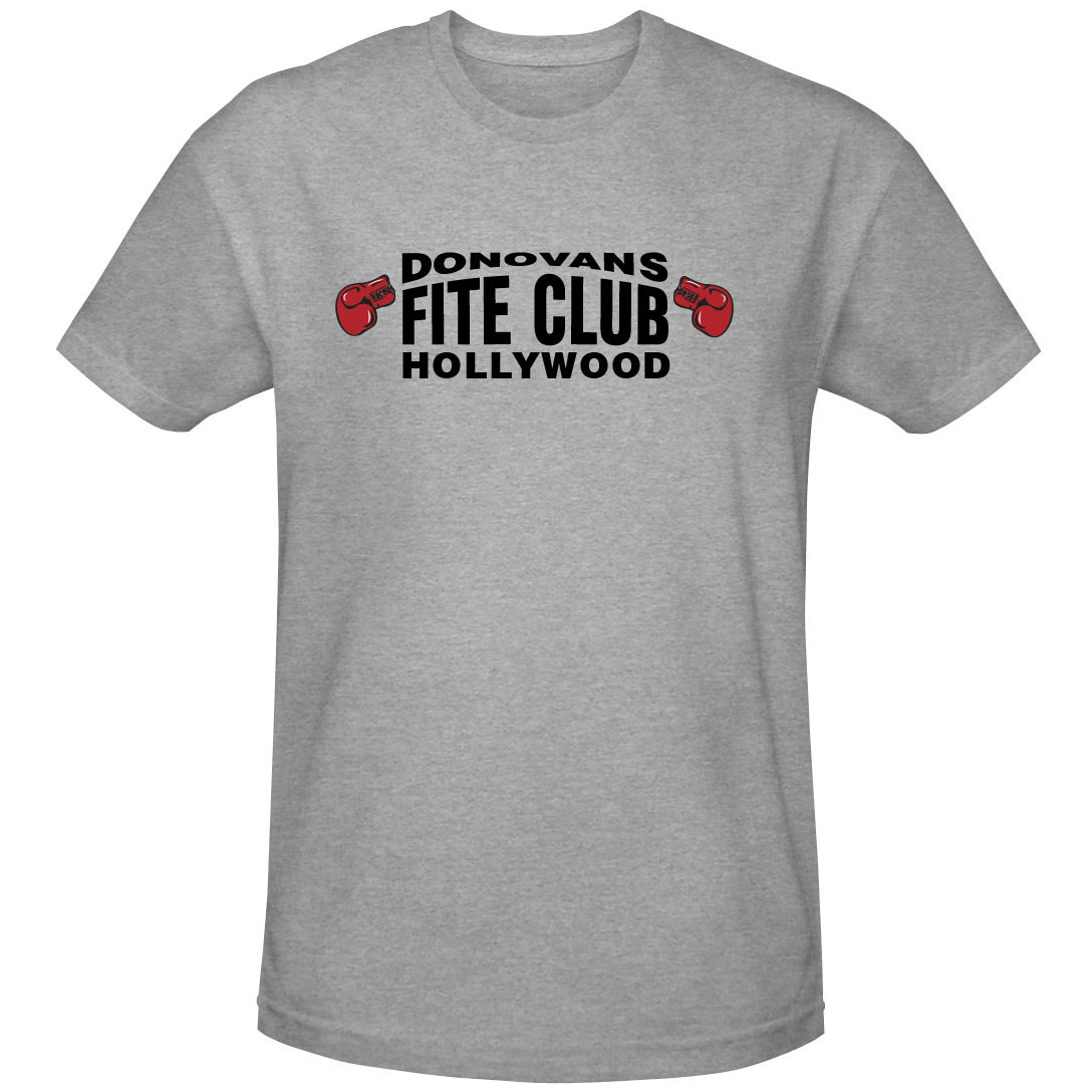 Ray Donovan Fite Club Grey Gloves T-Shirt