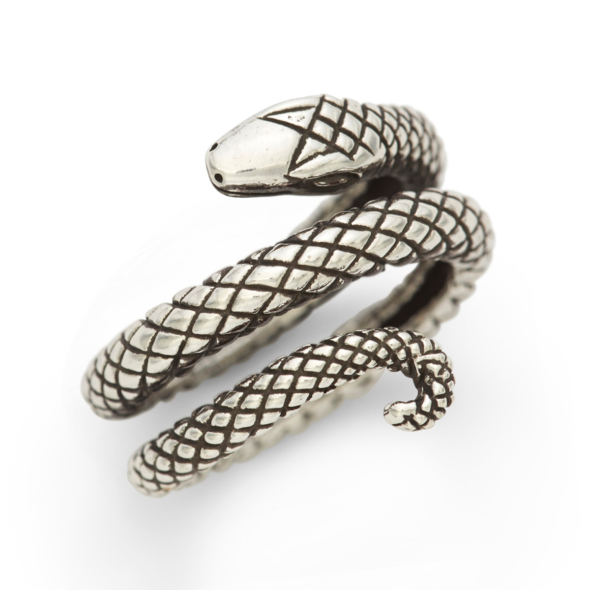 Penny Dreadful RockLove Sterling Silver Snake Ring