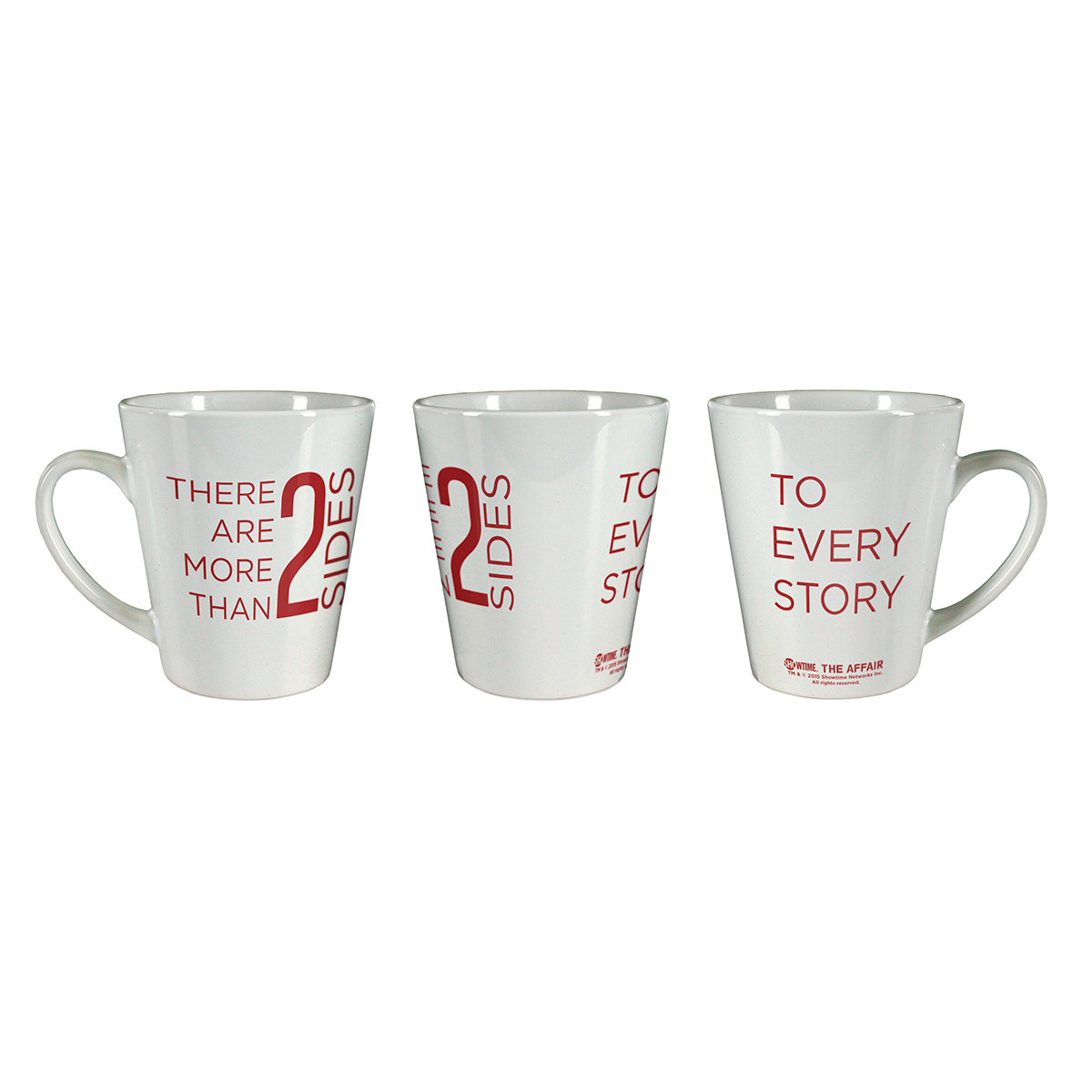 The Affair There Are More Than 2 Sides Latte Mug
