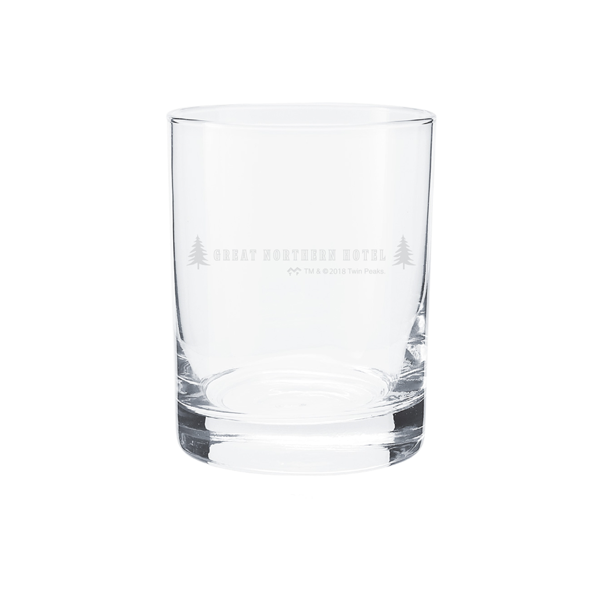 Twin Peaks Rocks Glasses (Set of 2)