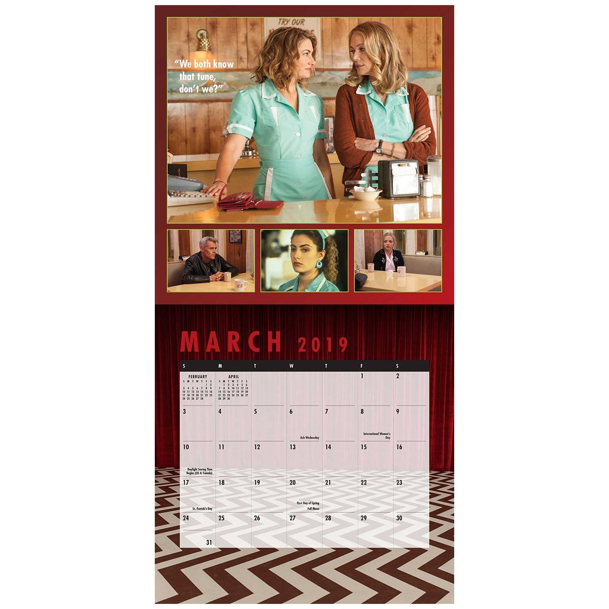 Twin Peaks 2019 Calendar