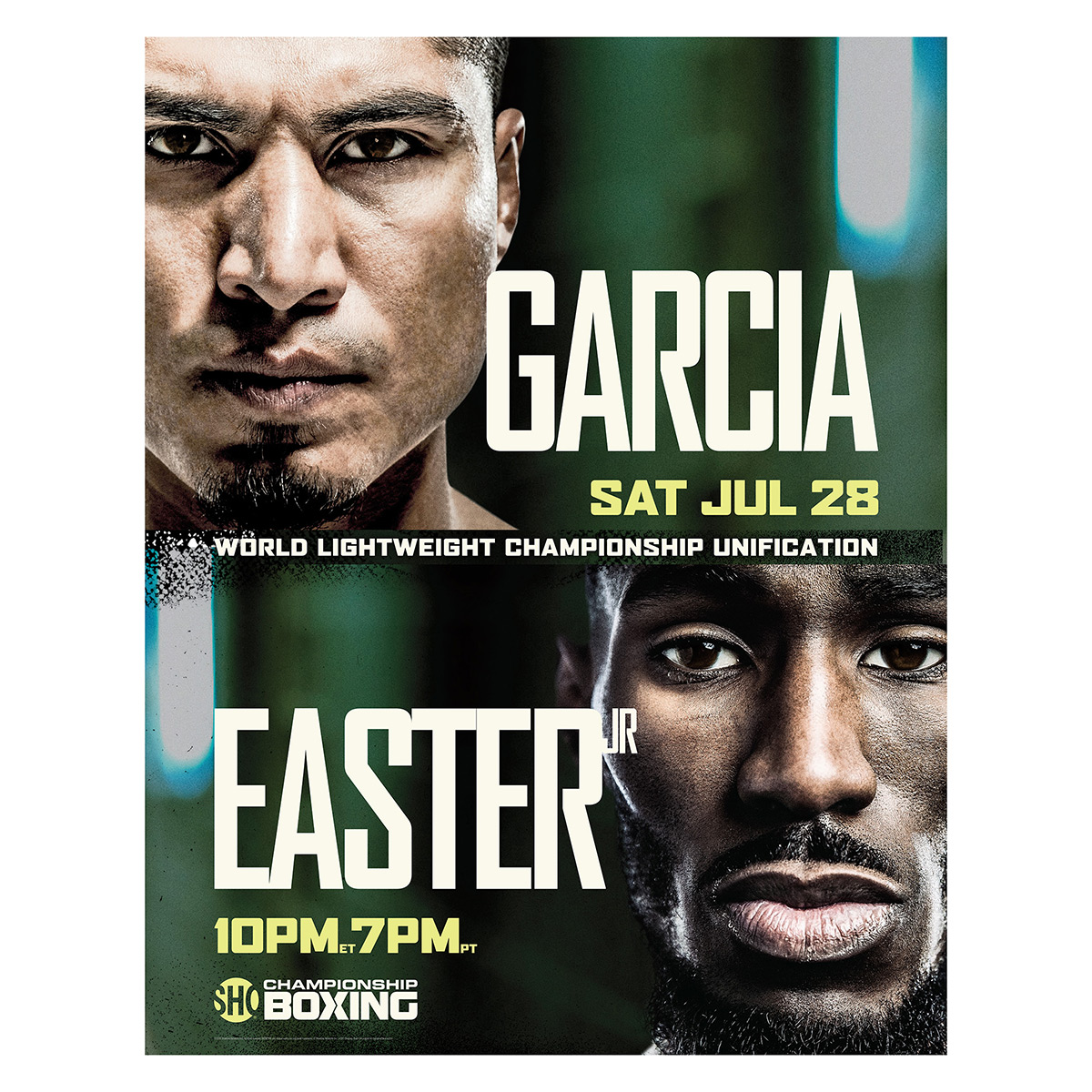 Garcia vs Easter Jr. Giclee (18x24)