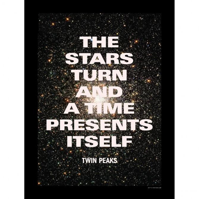 """Twin Peaks Stars Poster (18""""x24"""")"""