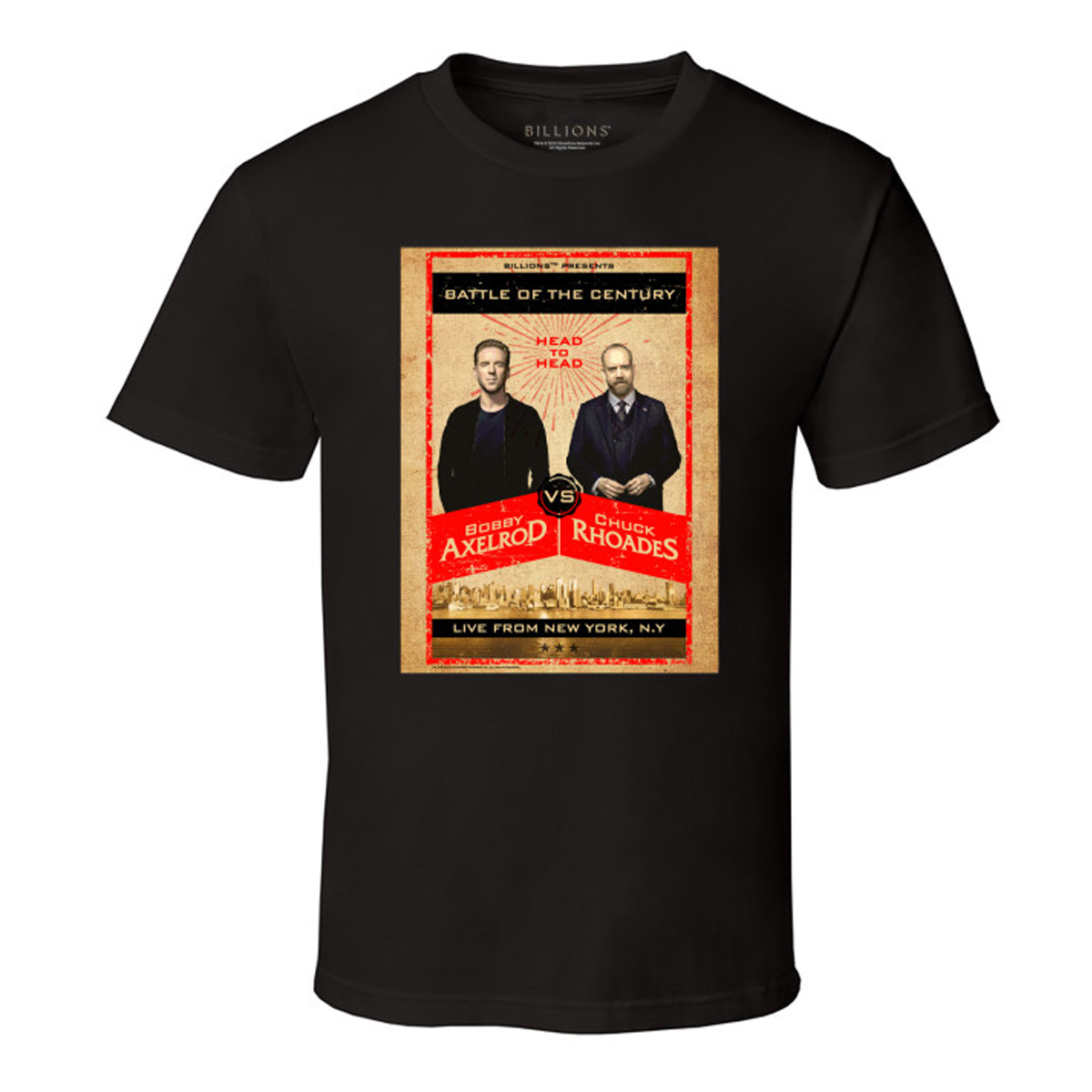 Billions Brawl On Wall T-Shirt