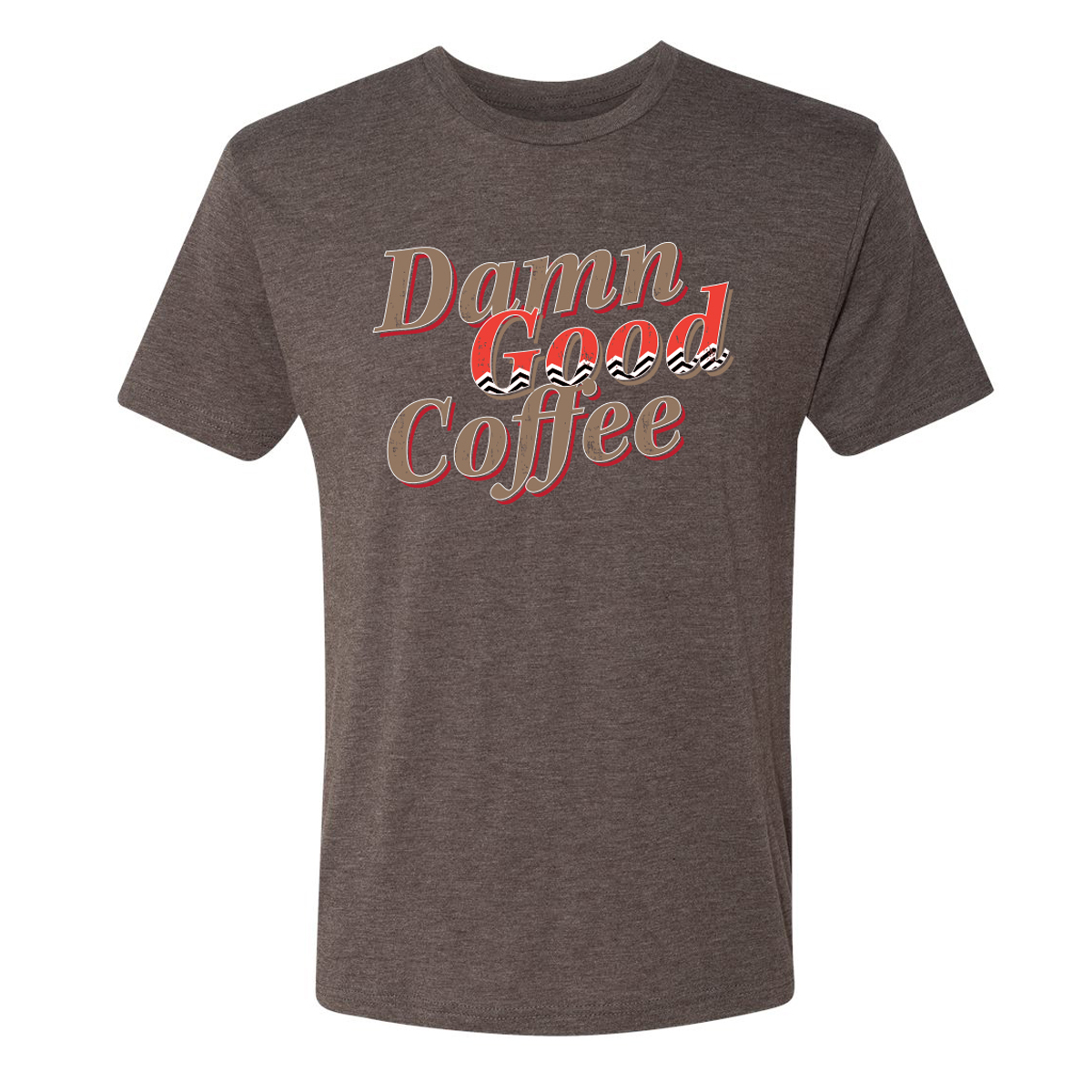 Twin Peaks Damn Good Coffee Chevron T-Shirt
