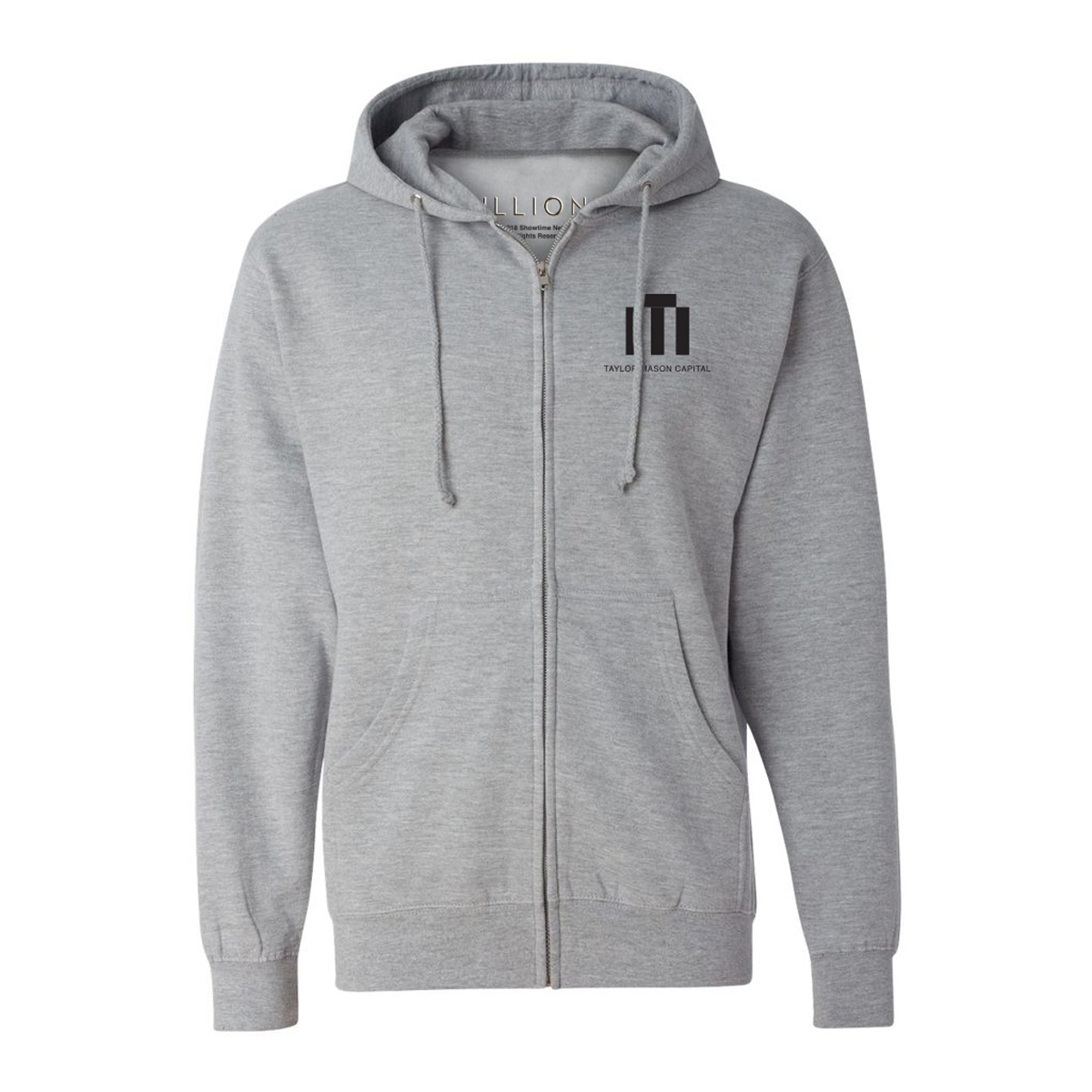 Billions Taylor Mason Capital Logo Zip Up Hoodie