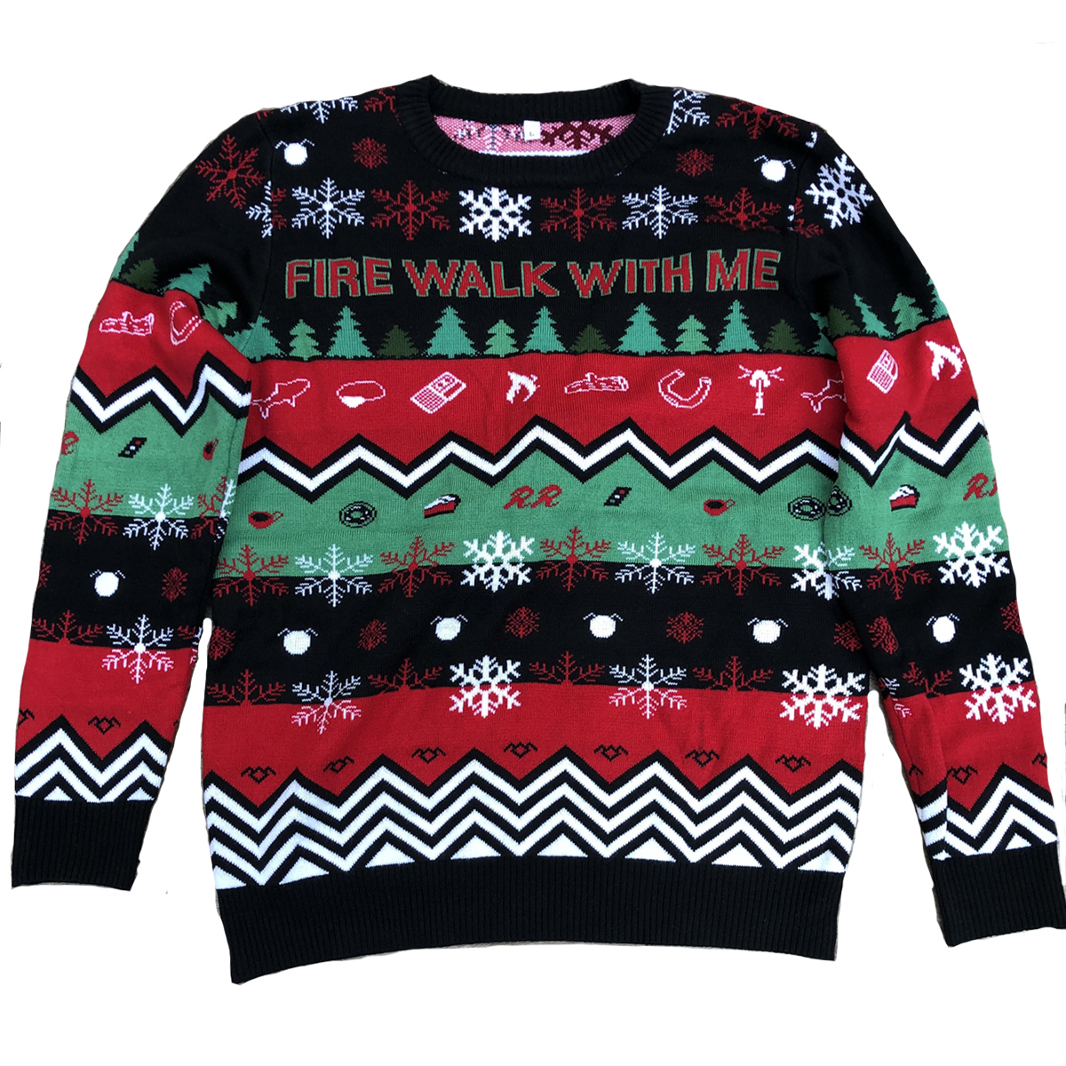 Twin Peaks Fire Walk With Me Holiday Sweater