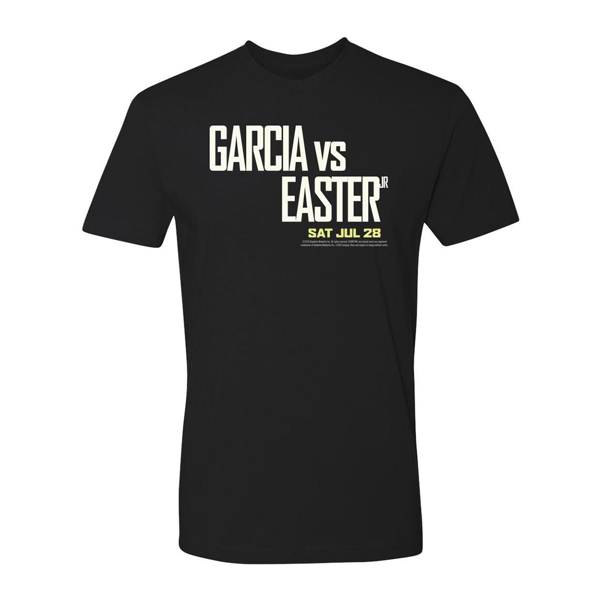 Garcia vs Easter Jr. T-Shirt (Black)