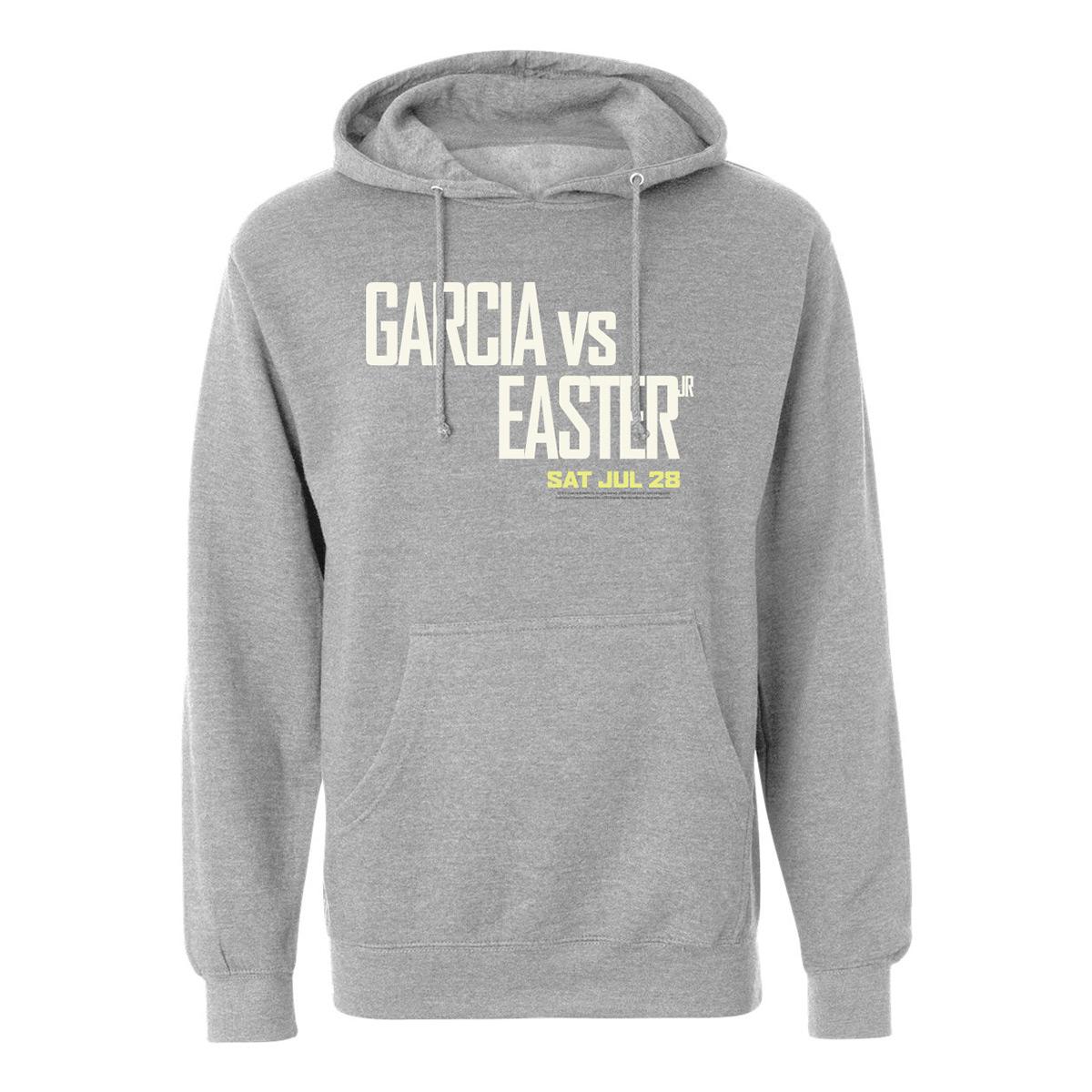 Garcia vs Easter Jr. Hoodie (Heather Grey)