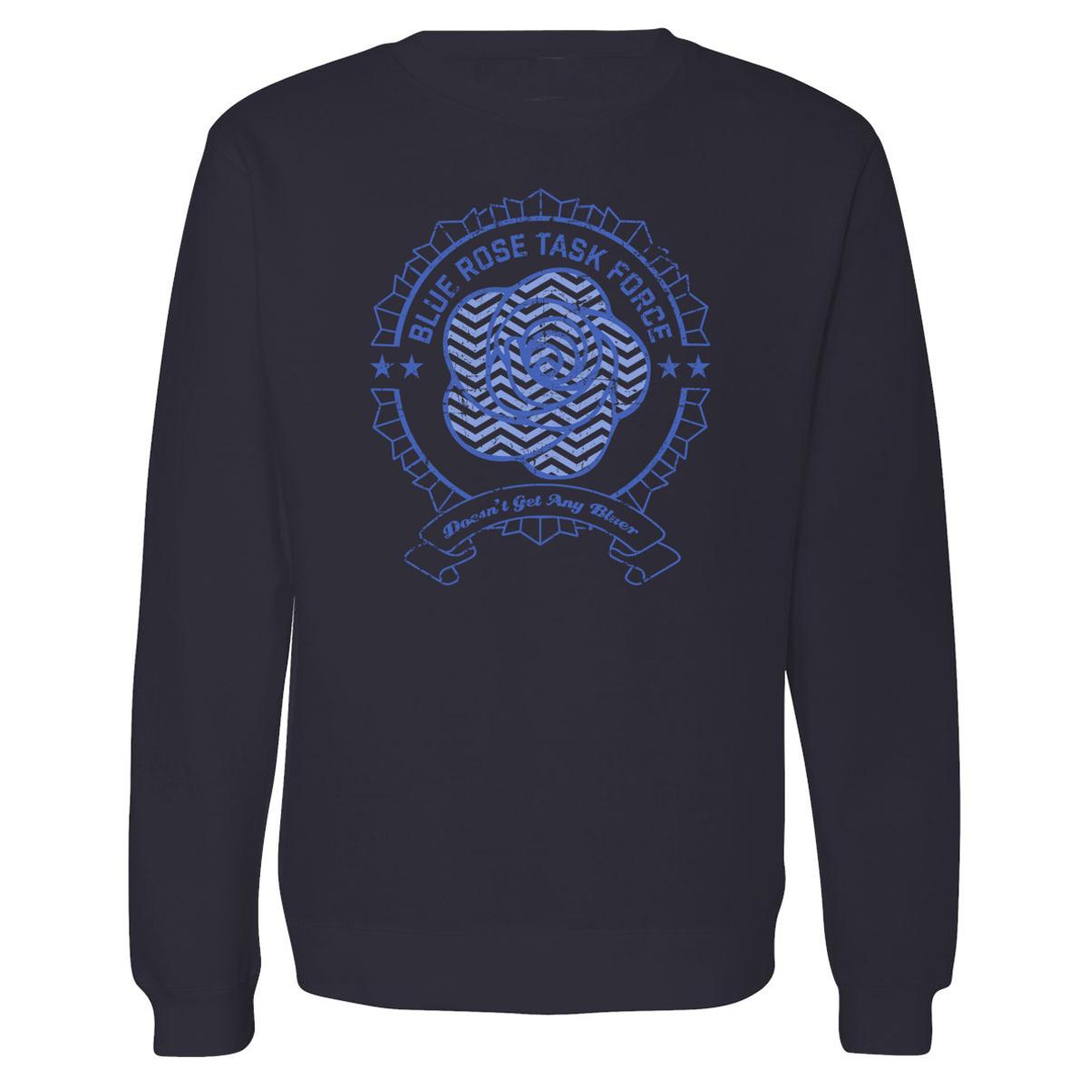 Twin Peaks Blue Rose Task Force Crewneck Sweatershirt