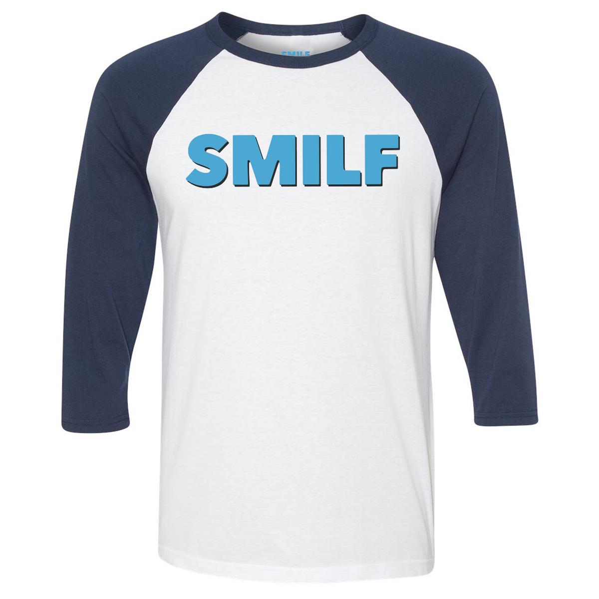 SMILF Logo Raglan T-Shirt