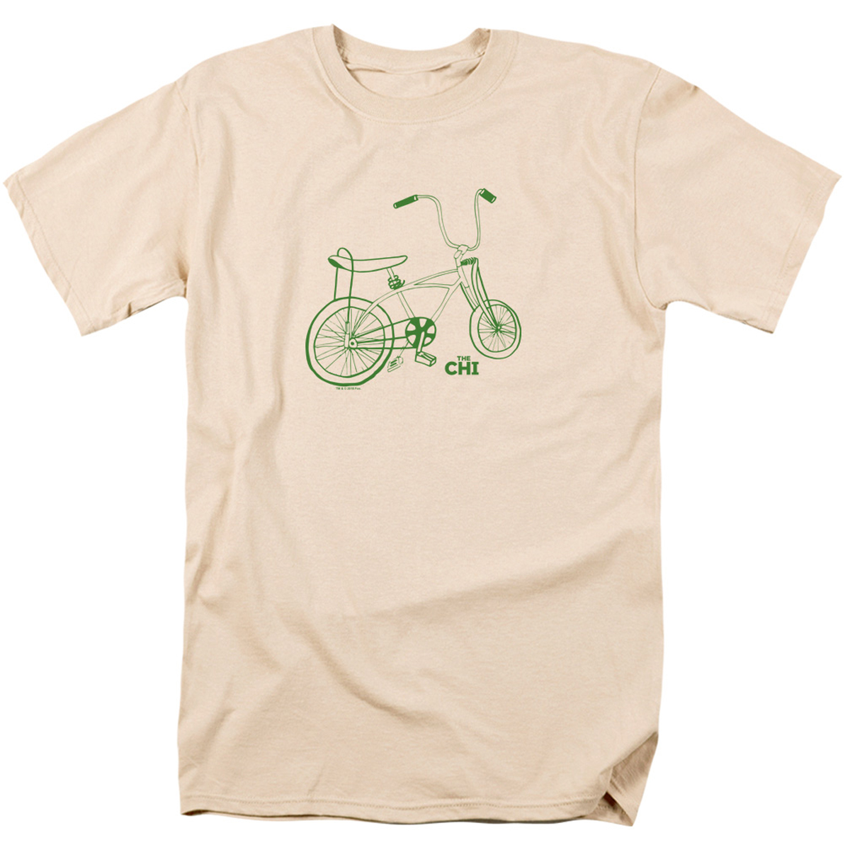 The Chi Bicycle T-Shirt (Cream)