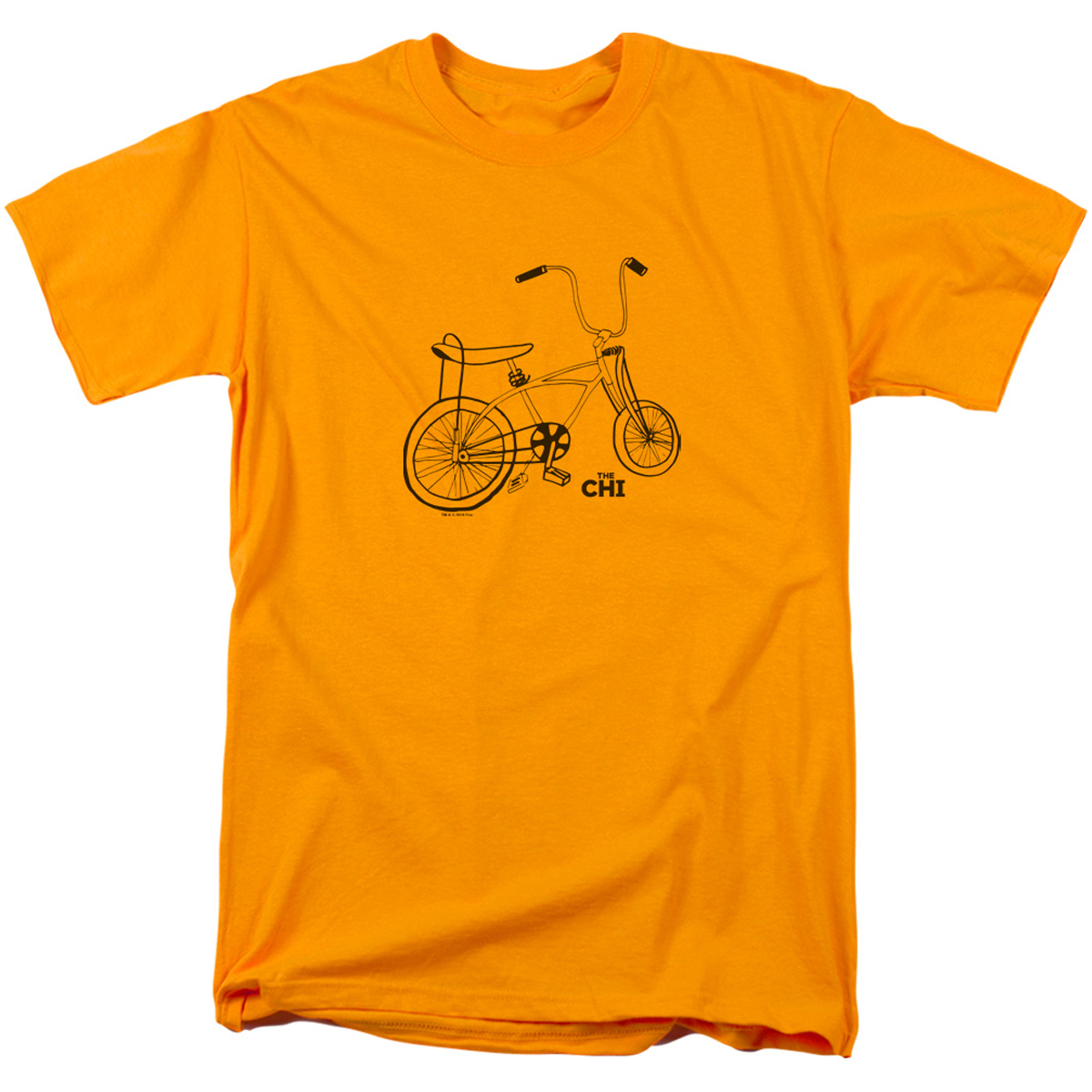 The Chi Bicycle T-Shirt (Gold)