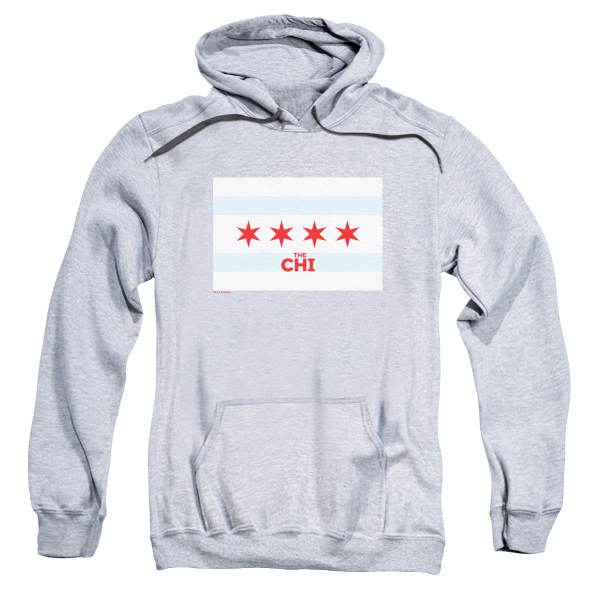 The Chi Chicago Flag Pullover Hoodie