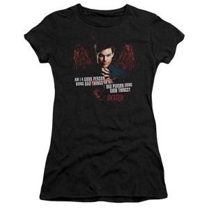 Dexter Do Bad Things / Good Things Blood Wings Women's Slim Fit T-Shirt