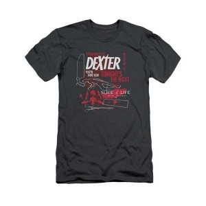 Dexter 10th Anniversary Logo Mash Up T-Shirt