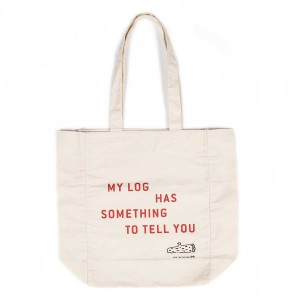 Twin Peaks My Log Has Something to Tell You Tote