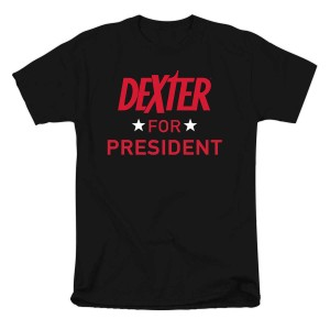 Dexter for President Slim Fit T-Shirt