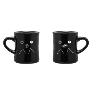 Twin Peaks Art Collection Line Art Mug [Black]