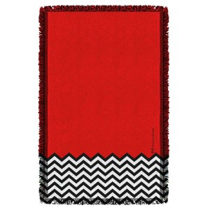 Twin Peaks Red Room Woven Throw Blanket[36x58]