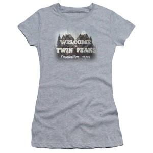 Twin Peaks Welcome To Twin Peaks Women's Slim Fit T-Shirt