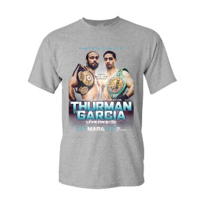 Showtime Boxing Official Thurman vs Garcia T-Shirt [Heather Grey]