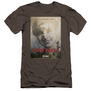 Twin Peaks Laura Palmer It's Happening Again T-Shirt - Charcoal