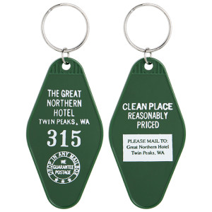The Great Northern Hotel Room #315 Twin Peaks Official Key Tag