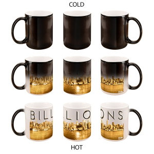 Billions Skyline Heat Sensitive Mug