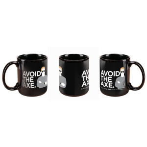 Billions Avoid the Axe Mug