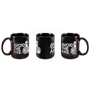 Billions Avoid the Axe Mug