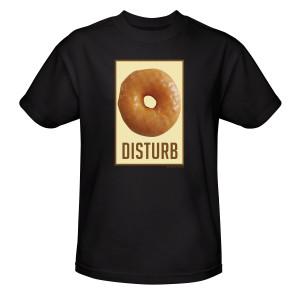 Twin Peaks Donut Disturb T-Shirt [Black]