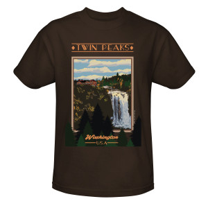Twin Peaks Vintage Poster T-Shirt