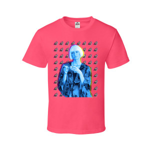 Twin Peaks Diane Backdrop T-Shirt (Coral)