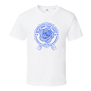 Twin Peaks Blue Rose T-Shirt (White)