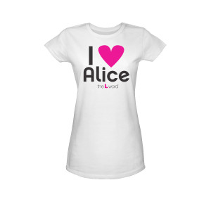 The L Word ''I Heart Alice'' T-Shirt