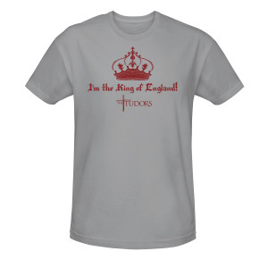I'm the King of England! Men's T-Shirt - Heather Grey