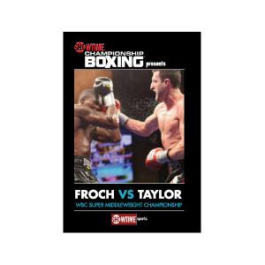 Froch vs. Taylor DVD