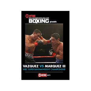 Vazquez vs. Marquez III DVD